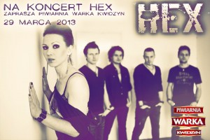 Koncert zespołu HEX - 29.03.2012