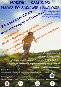 nordic walking Dankowo plakat
