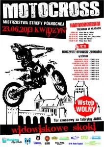 motocross kwidzyn plakat