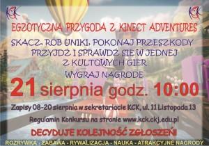 Kinect Adventures plakat