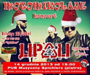 motomikołaje 2013 koncert plakat