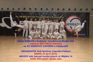 capoeira warsztaty styczen 2014
