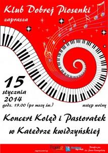 koncert koled LFF Projekt plakat
