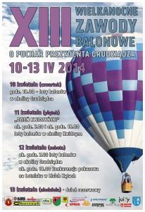 zawody balonowe 2014 plakat
