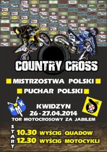 cross country 2014 kwidzyn plakat